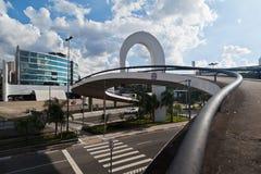 Latin America Memorial Sao Paulo Brazil stock images