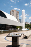 Latin America Memorial Sao Paulo. The Memorial of Latin America is a cultural center, political and leisure in the city of São Paulo, Brazil royalty free stock image