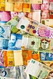Latin american banknotes Stock Image