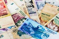 Latin american banknotes Stock Photo
