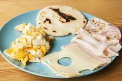 Latin american breakfast