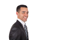 Latin American business man  isolated Stock Photos