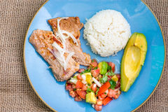Latin American cuisine fusion Stock Photos