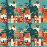 Latin American holiday, the June party of Brazil. Seamless pattern. Stock Photos