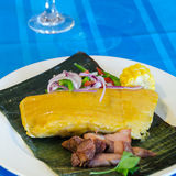Latin American Tamales. Traditional Meal Royalty Free Stock Photos