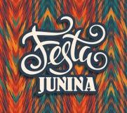 Latin - amerikansk ferie, det Juni partiet av Brasilien vektor illustrationer