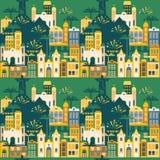Latin - amerikansk ferie, det Juni partiet av Brasilien seamless modell vektor illustrationer