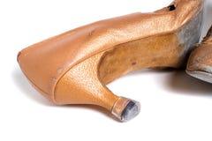 Latin ballroom dance shoes Stock Image