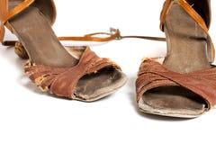 Latin ballroom dance shoes Stock Photo
