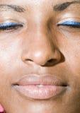 Latin black woman native nicaragua portrait Royalty Free Stock Image