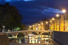 Bridge on Miljacka Royalty Free Stock Images