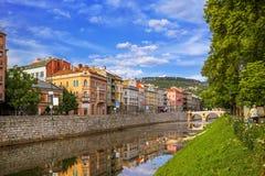Latin Bridge in Sarajevo - Bosnia and Herzegovina Stock Image