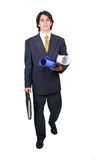 Latin Business man ready to work Stock Photo