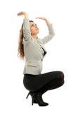 Latin businesswoman, conceptual shot Stock Photography