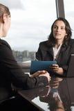 Latin businesswoman in office Stock Photos