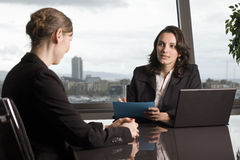Latin businesswoman in office Royalty Free Stock Photos
