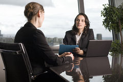Latin businesswoman in office Royalty Free Stock Images