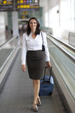 Latin businesswoman travelling Royalty Free Stock Photography