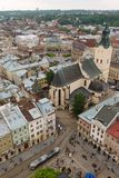 Latin Cathedral in Lviv Royalty Free Stock Photo