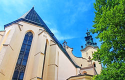 Latin Cathedral in Lviv, Ukraine Stock Images