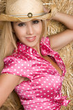 Latin Cowgirl Royalty Free Stock Images