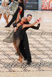 Latin Dance Couple - Dance Masters 2012 Royalty Free Stock Images