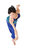 Latin dance pose Royalty Free Stock Photos