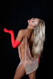 Latin dancer Royalty Free Stock Photos