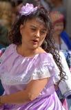 Latin dancer Stock Images