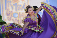 Latin Dancer. Perform at the 15thannualGlobal Village Festival held in Irving CA Royalty Free Stock Photography
