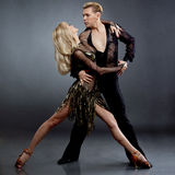 Latin dancers Stock Photo