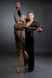 Latin dancers Stock Image