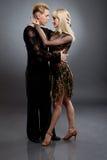 Latin dancers Royalty Free Stock Images