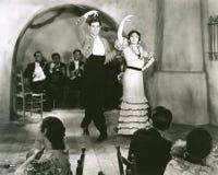 Latin dancers royalty free stock photo