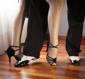 Latin dancers couple Royalty Free Stock Photo