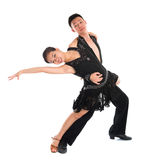 Latin dancers Royalty Free Stock Photography