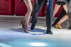 Latin de danse des jeunes Photo libre de droits