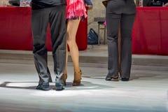 Latin de danse des jeunes Photographie stock libre de droits
