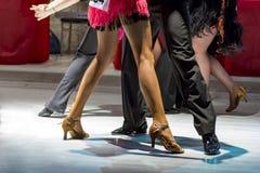 Latin de danse des jeunes Images stock