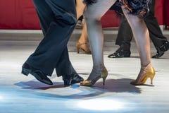 Latin de danse des jeunes Photographie stock