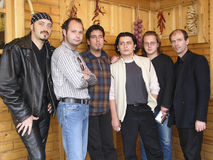 Latin Expres. S is a musical band,started in summer of '99 in Mangalia. Latin style,as the band,was very much appreciated Stock Image
