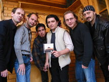 Latin Expres. S is a musical band, started in summer of '99 in Mangalia. Latin style,as the band,was very much appreciated Stock Images