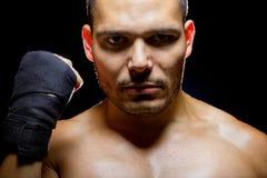 Latin Fighter Stock Photo