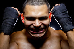 Latin Fighter Royalty Free Stock Image