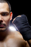 Latin Fighter Stock Photography