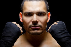 Latin Fighter Royalty Free Stock Photography