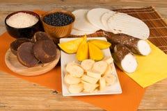 Latin food ingredients Royalty Free Stock Photo
