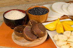 Latin food ingredients Royalty Free Stock Images