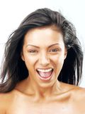 Latin fresh woman. Stock Photography