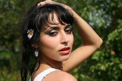 Latin girl Stock Photography